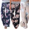 Women's Loose-Fit Floral Pants (3-Pack)