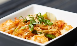 Lotus Thai Cuisine: Thai Food for Two or Four at Lotus Thai Cuisine (Up to 50% Off). Four Options Available.