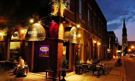 C$15 for C$25 Worth of Drinks & Small Plates at Red Brick Cafe