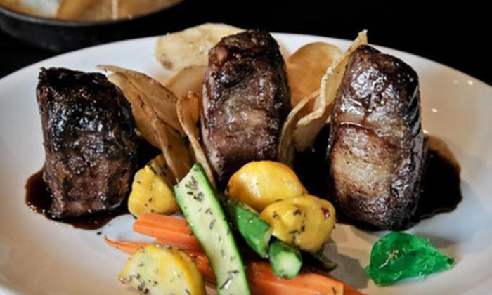 Upscale american cuisine closed chaplos restaurant and for Afghan cuisine sugar land menu