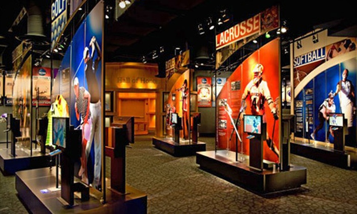 NCAA Hall of Champions - Downtown Indianapolis: Admission for One