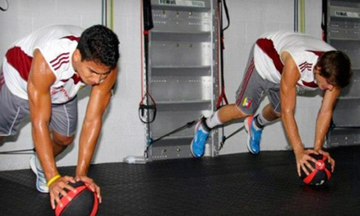 FitWall Vaughan - Woodbridge: 10 or 20 FitWall Fitness Classes at FitWall Vaughan (Up to 75% Off)