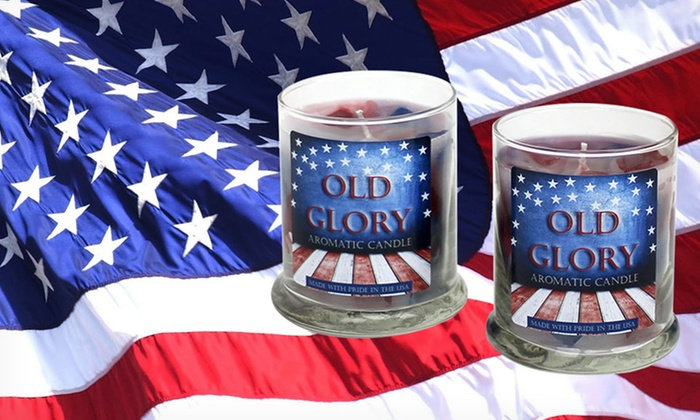 Old Glory Aromatic Candle Set: $19.99 for a Set of 2 Old Glory Aromatic Candles ($44 List Price). Free Shipping.