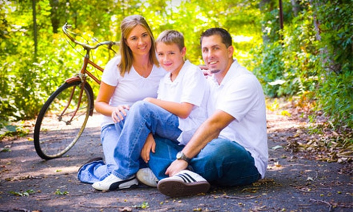 Fotographia - Mt. Washington: One-Hour Family Photo Session or Two-Hour Senior Portrait Session with Choice of Prints from Fotographia (Up to 81% Off)