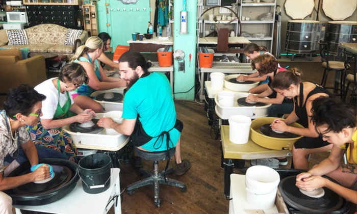 Yay Clay! - Port Richmond: One-Hour BYOB Wheel-Throwing Class for Two, Four, or Six at Yay Clay! (Up to 48% Off)