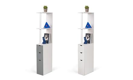 meuble de rangement salle de bain groupon shopping. Black Bedroom Furniture Sets. Home Design Ideas