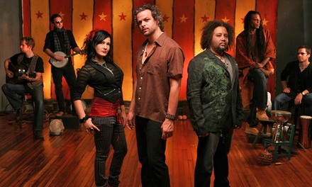 Rusted Root on January 7 at 8 p.m.