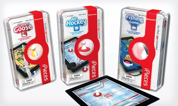 iPieces Toy Bundle for iPad: $22 for an iPieces iPad-Toy Bundle with Game of Goose, Fishing Game, and Air Hockey ($38.97 List Price). Free Shipping.