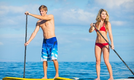 90-Minute Stand-Up Paddle Board Rental for One or Two from Bike & Kayak Tours (Up to 53% Off)