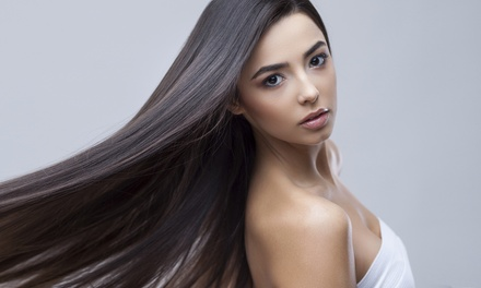 Yuko Japanese Hair-Straightening Treatment with Optional Haircut at KC Salon Las Tunas (Up to 79% Off)