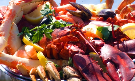 $30 for $60 or $35 for $60 Worth of Seafood and Cajun Cuisine at The Crazy Lobster