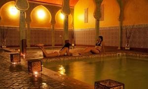 Baños Árabes Medina Aljarafe: Circuito termal de 1 hora para 2 personas con opción a masaje de 15 minutos desde 24,95€ en Baños Árabes Medina Aljarafe