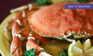 Chinn's 34th St Fishery: Seafood and Drinks at Chinn's 34th Street Fishery (Up to 47% Off). Two Options Available.