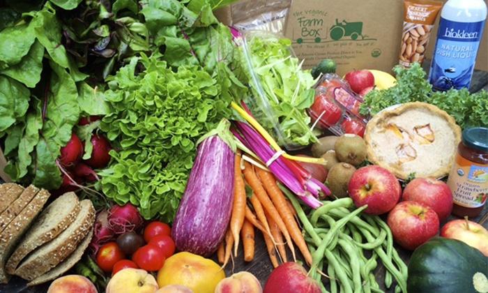Sunizona Family Farms: $17 for Organic FarmBox from Sunizona Family Farms –Online Redemption Required ($25 Value)
