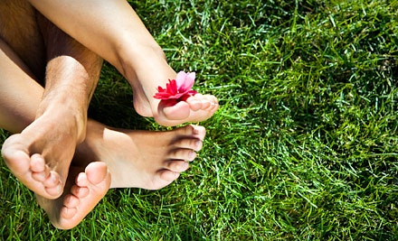 Three Laser Nail-Fungus Treatments for One or Both Feet at Feet First Podiatry (Up to 88% Off)