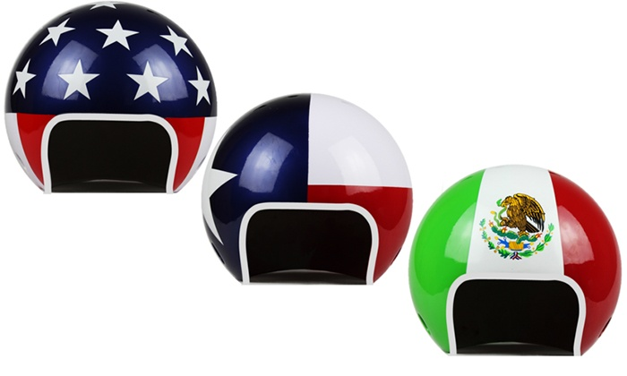 The Cowboy House - The Cowboy House: Wreckin' Ball Memorabilia Helmets at The Cowboy House (Up to 45% Off). Three Options Available.