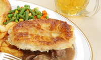 Lancaster Brewery Tour, Tasting and Pie For Two, Four or Six from £19