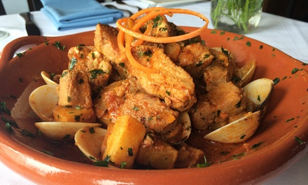Portuguese Food for Two or Four During Dinner or Lunch at Fado (Up to 50% Off)