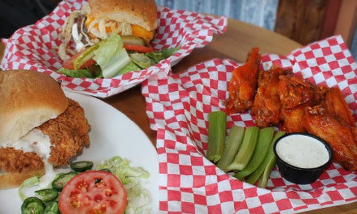 Malibu Shack - Thunderbird Hills: $10 for $20 Worth of California-Style Burgers, Sandwiches, and Seafood at Malibu Shack