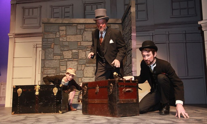 """""""Sherlock Holmes & The First Baker Street Irregular""""  - The Rose Theater: """"Sherlock Holmes & The First Baker Street Irregular"""" at The Rose Theater, November 6–22 (Up to 32% Off)"""