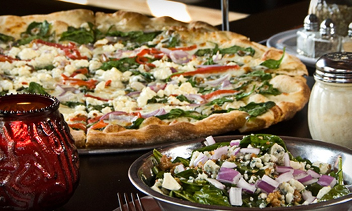 Pizza 1 - Multiple Locations: Pizza, Subs, and Pasta at Pizza 1 (Half Off). Three Options Available.