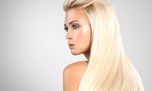 Eutopia Beauty Studio: Haircut Package with Options for Partial or Full Highlights at Eutopia Beauty Studio (Up to 69% Off)