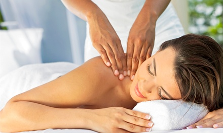 Swedish or Deep-Tissue Massages and Body Scrubs at OhLaLa Massage (Up to 68% Off). Four Options Available.