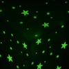 Glow-in-the-Dark Star Decal Stickers for Kids (100-Pieces)
