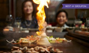 Koji Japanese Steakhouse: Sushi and Hibachi Dinner for Two or Four or More at Koji Japanese Steakhouse (Up to 40% Off).