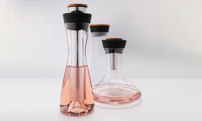 Wine or water carafe groupon goods for Xd garden design