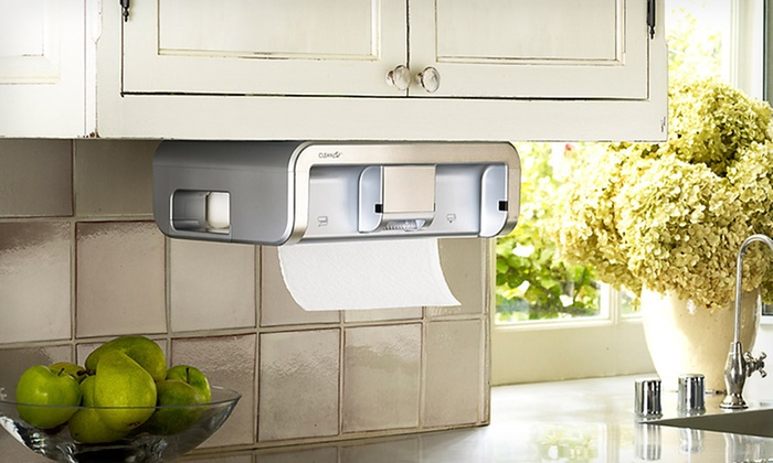 Touchless Paper-Towel Dispenser: $45 for a CleanCut Touchless Paper-Towel Dispenser (Up to $149.95 List Price). Three Styles Available. Free Shipping.