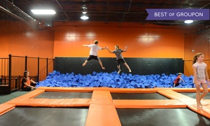 Urban Air Trampoline Park: Two Hours of Jumping for One, Two, or Four at Urban Air Trampoline Park