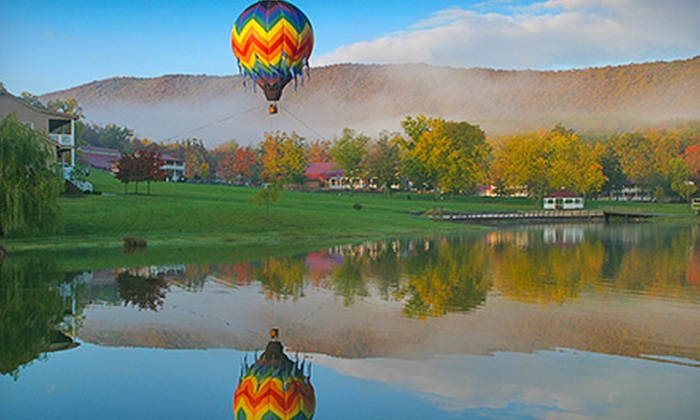 Virginia Balloons, LLC - Multiple Locations: $349 for a Hot Air Balloon Flight with Complimentary Champagne for Two from Virginia Balloons, LLC (Up to $998 Value)