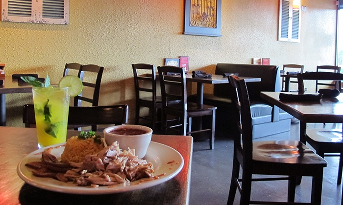 Guantanamera - Garrison Park: Cuban Cuisine at Guantanamera (Up to 45% Off). Two Options Available.