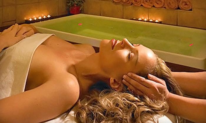 Pierre & Carlo European Salon & Spa - Wyncote: Mani-Pedi, 60-Minute Swedish Massage or Signature Facial, or Both at Pierre & Carlo European Salon & Spa (Up to 55% Off)