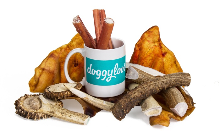 Doggy Loot: One Month of Treat or Chew of the Month Subscription from Doggyloot (Up to 69% Off)