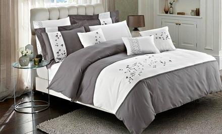7-Piece 100% Cotton Comforter or Duvet Cover Set