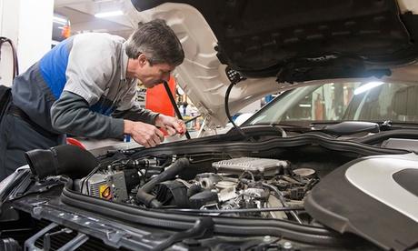 Kit de distribución para el vehículo, revisión de 30 puntos, cambio de aceite y filtro desde 249,95 € en Motorauto