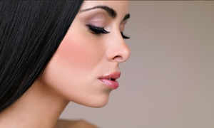 Salon Sonal: Eyebrow Threading or Cut, Color, Wash, and Blow Dry at Salon Sonal (Up to 50% Off)