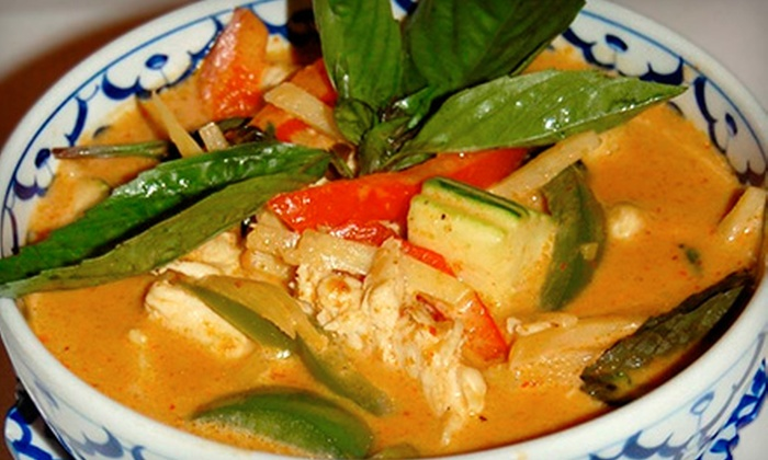 Addie's Thai House - Chesterfield: Thai Dinner Cuisine and Drinks at Addie's Thai House (Half Off). Three Options Available.