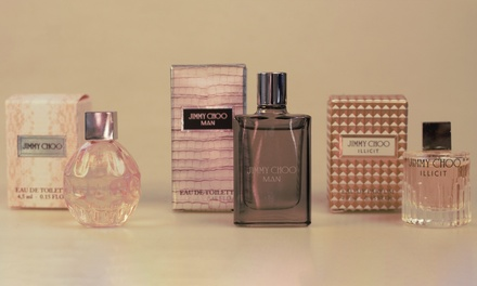 One £7, Two £10.99 or Three £16 Jimmy Choo Miniature Fragrances