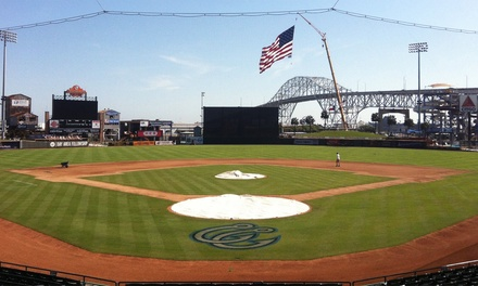 Corpus Christi Hooks Baseball Game for Two or Four at Whataburger Field (Up to 52% Off). 10 Games Available.