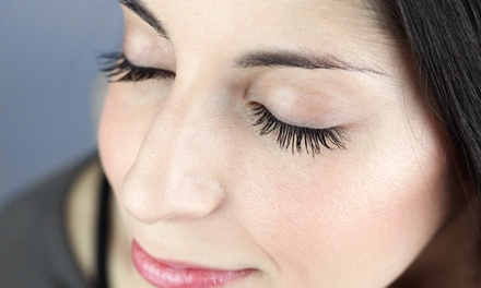Silk, Mink, or Partial Eyelash Extensions at Glam Beauty Lounge (Up to 54% Off)