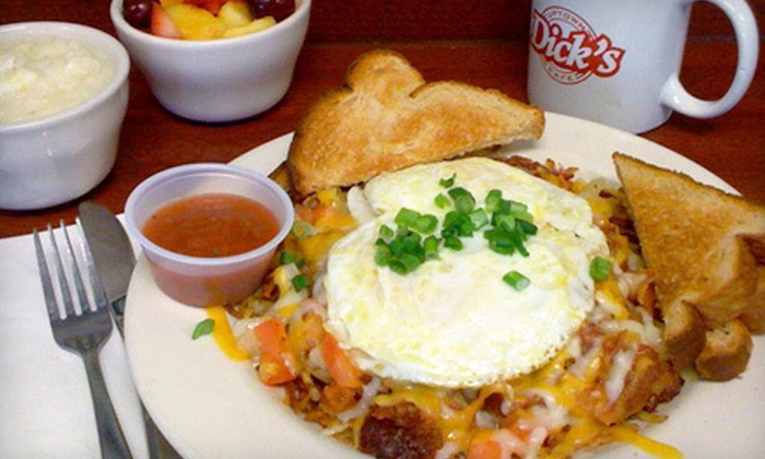 Dick's Uptown Cafe - Cedar Hill Town Center: $15 Worth of Diner Food