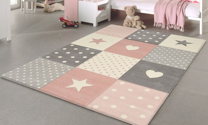 Children S Pastel Rug Groupon