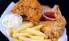 Harold's Chicken Shack- Milwaukee ave - Wicker Park: Fried Chicken and Fish at Harold's Chicken Shack (Up to 47% Off). Two Options Available.