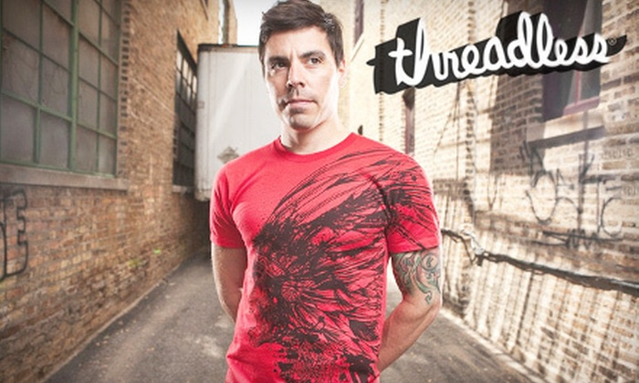 Threadless: Artistic Tees and Hoodies from Threadless (Half Off). Two Options Available.