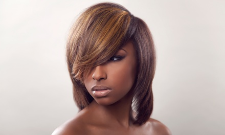 Haircut Package with Optional Partial or Full Highlights from Candis Gibson at Sears Hair Studio (Up to 55% Off)