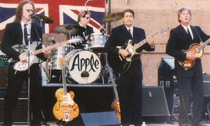 Beatles Tribute with Apple!: Beatles Tribute with Apple! for One, Two, or VIP Tickets for Four on Saturday, February 20, at 7:30 p.m.