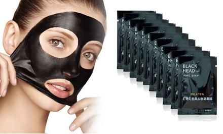 5, 10 o 20 máscaras negras faciales exfoliantes desde 4,53 € (hasta 74% de descuento)